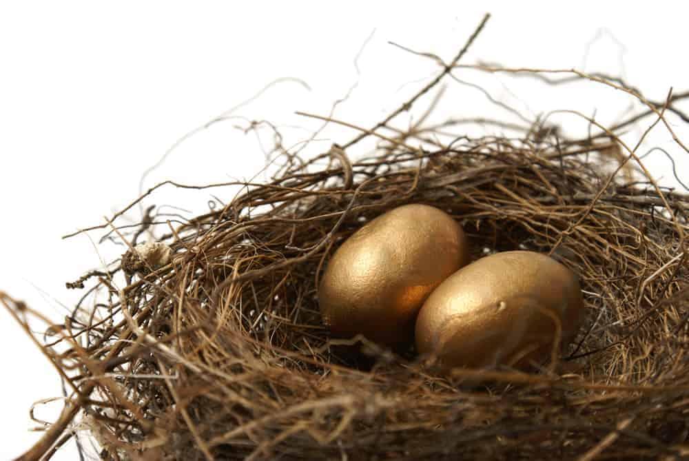 Inheritance tax planning - gold eggs in nest